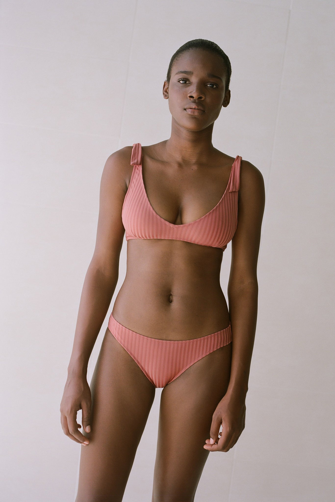 PALOMA WOOL SWIM Diablito Bikini Set Dusty Pink