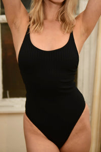 STATIC swimsuit Pacific One Piece in Black