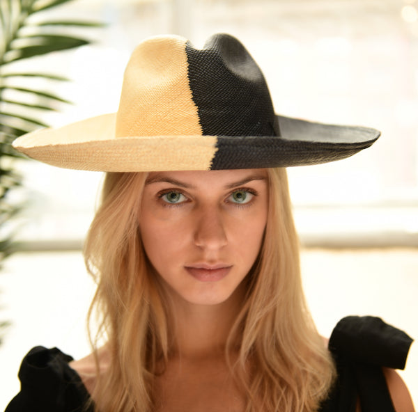 ARTESANO | Urus Hat - Black & Natural
