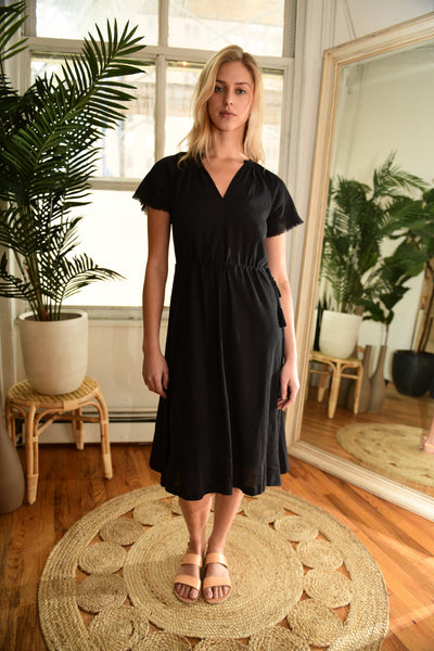 VOLOSHIN Mariana Dress in Black