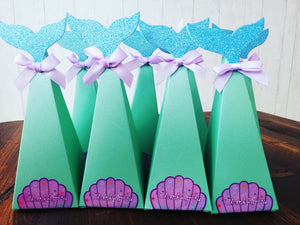 Mermaid Sweet Boxes / Party Bags