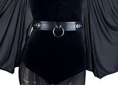 Restless Mind Choker Leather waist belt