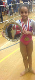 Arete Leotards Brand Rep Maisie southern region L2 champion gymnastics leotard