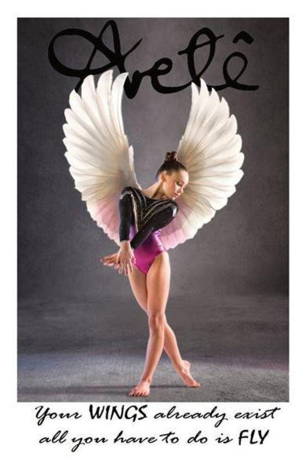 Aretê 'WINGS' Poster - Arete Leotards