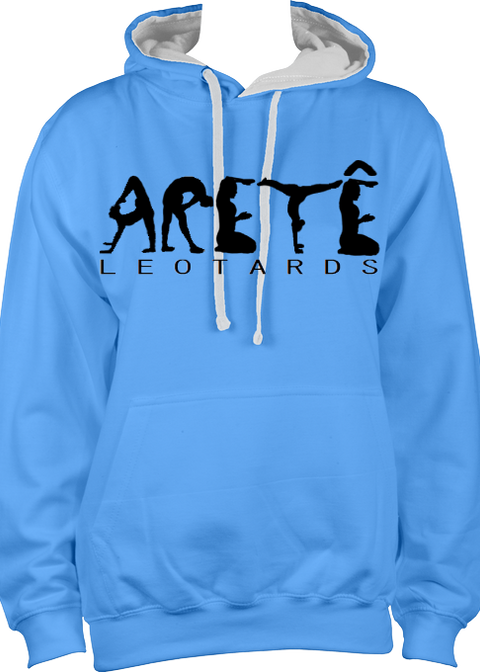 Unisex Aretê Contrast Hoodie (Child Sizes) - Arete Leotards