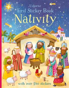 Usborne Nativity First Sticker book