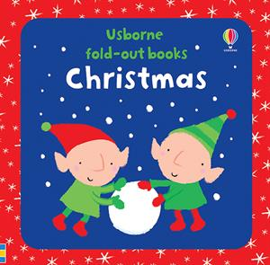 Usborne Fold-Out Books- Christmas