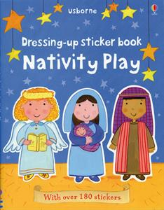 Usborne Dressing UP Sticker Book Nativity Play