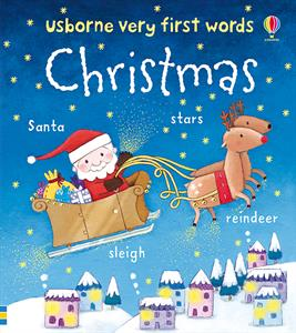 Usborne Very First Words- Christmas