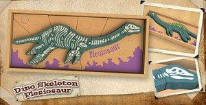 Begin Again Dino Skeleton Plesiosaur