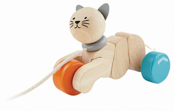 Plan Toys Pull Along Cat