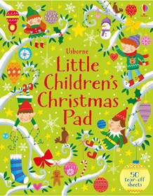 Usborne Little Children's Christmas Pad