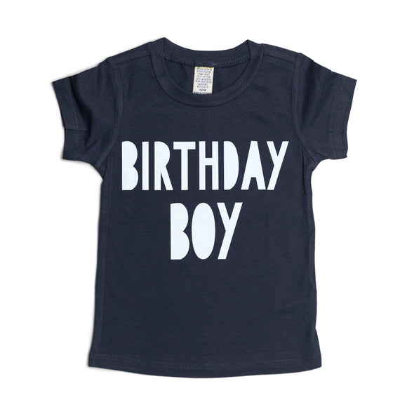Sweet Wink - Birthday Boy Navy Tee Shirt