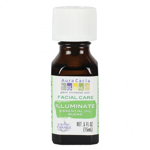 Aura Cacia Illuminate Essential Oil Blend 0.5 fl. oz