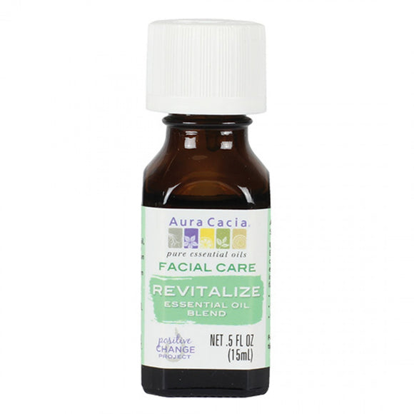 Aura Cacia Revitalize Essential Oil Blend 0.5 fl. oz