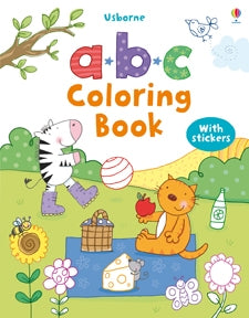 Usborne First Coloring Book ABC
