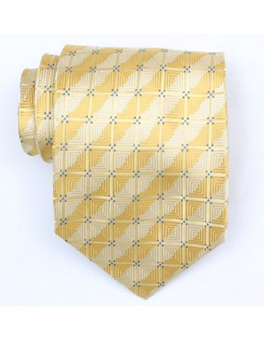 Yellow Square Tie