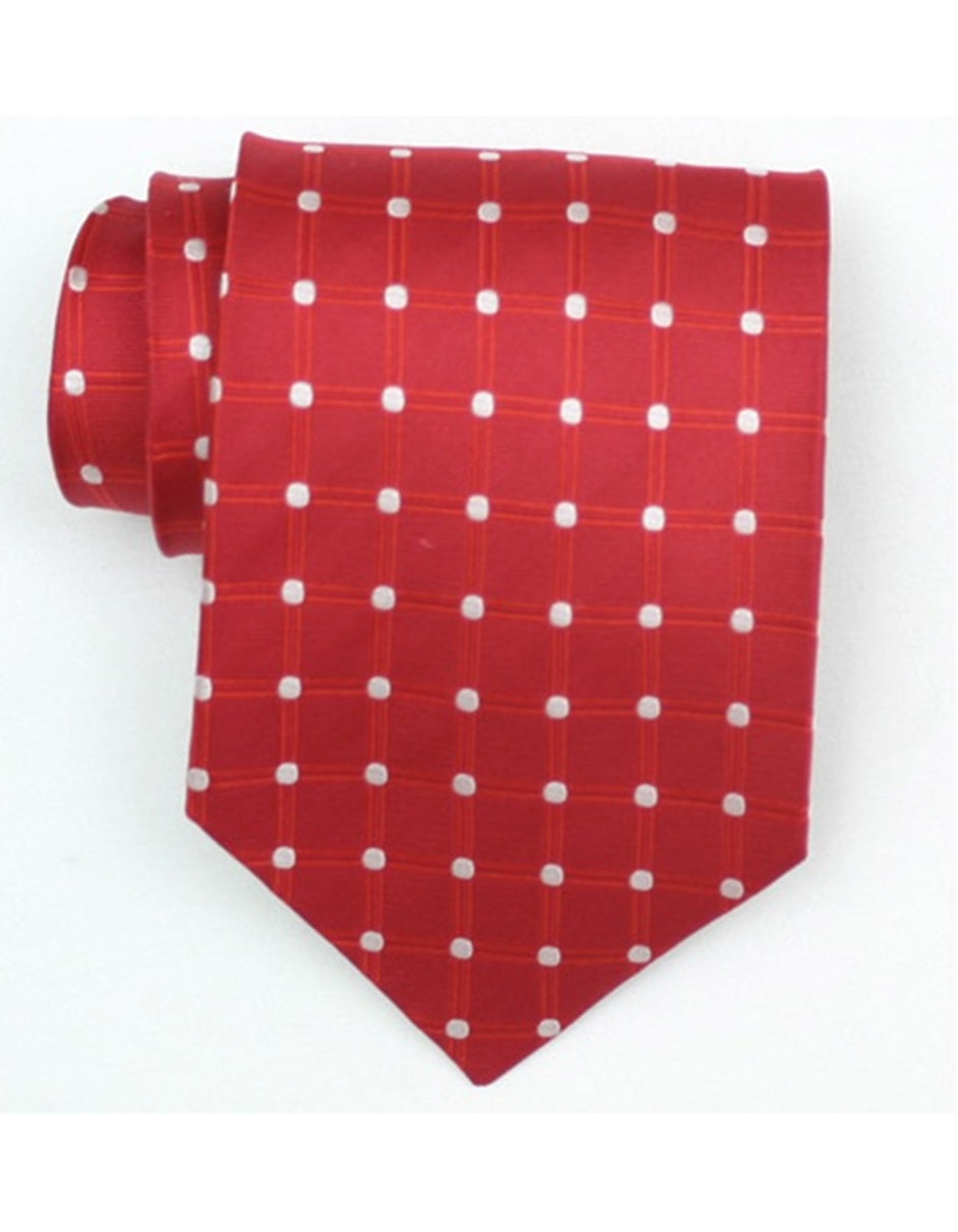 Red Dot Neck Tie