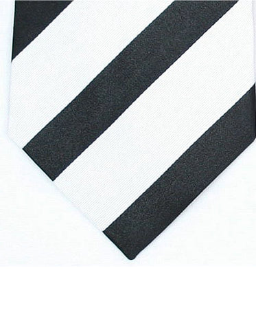 Black & White Neck Tie