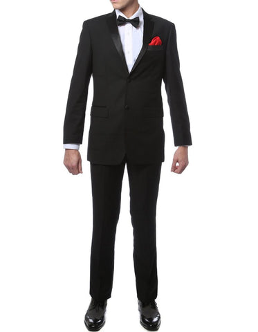 Tailored Black Notch Tuxedo