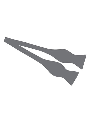 Charcoal Grey Self-Tie Bow Tie