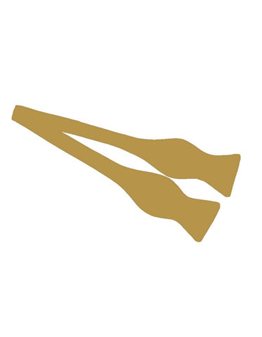 Gold Self-Tie Bow Tie