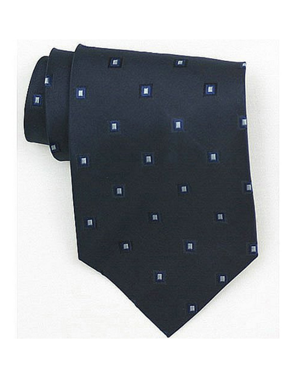 Black Square Neck Tie