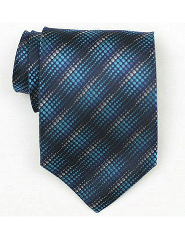 Multi Color Blue Neck Tie