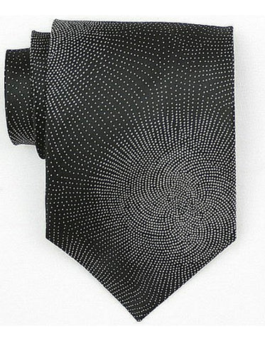 Black Burst Neck Tie