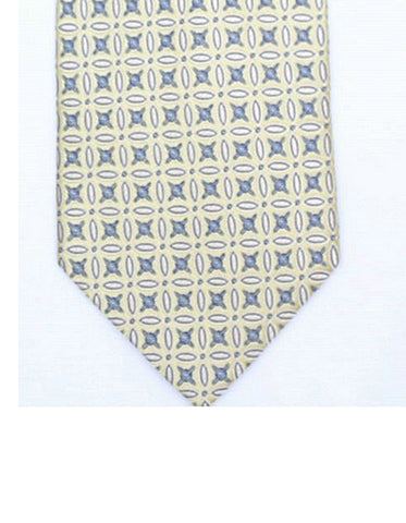 Yellow Flower Neck Tie