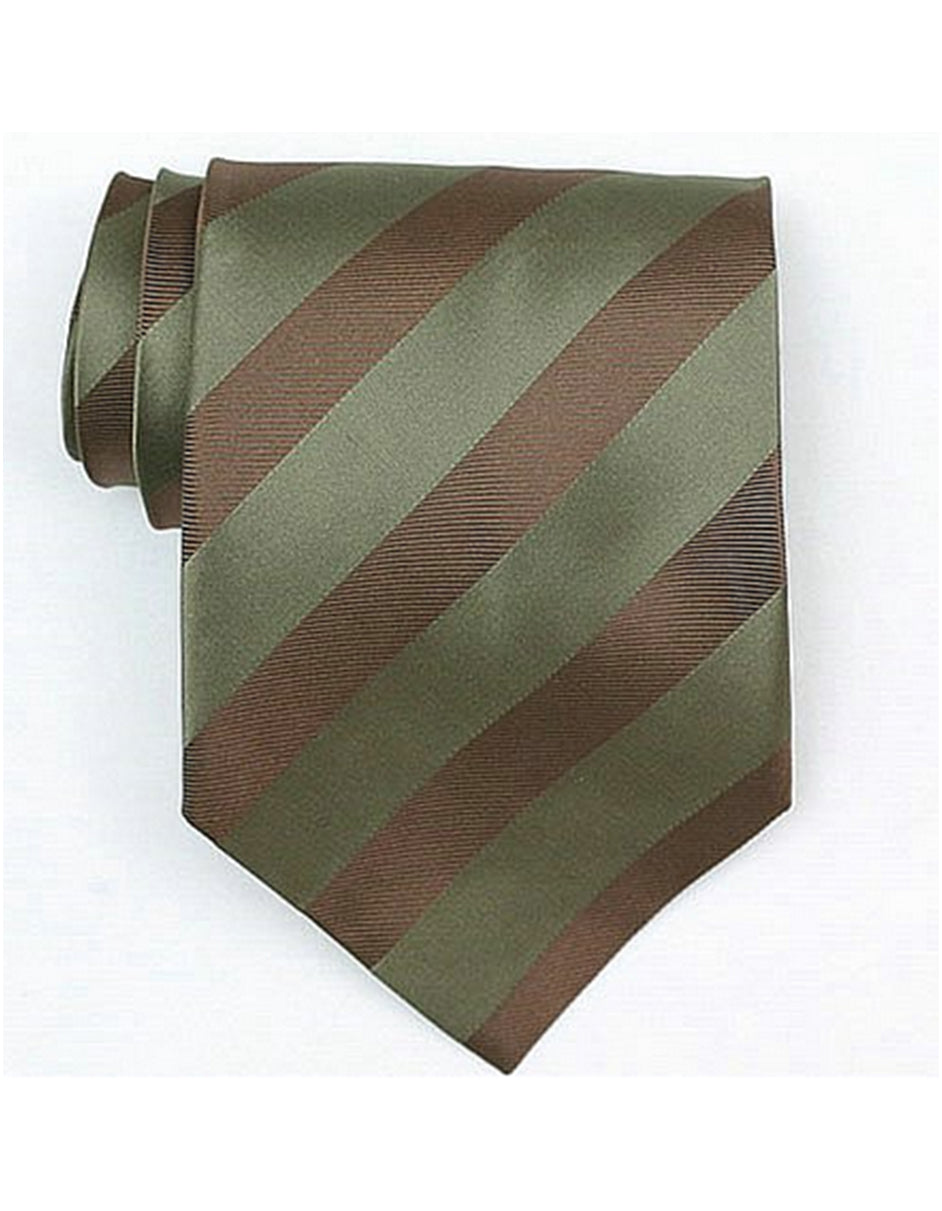 Olive Brown Neck Tie