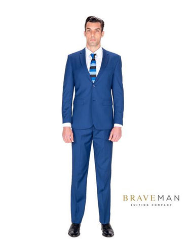 Indigo Slim Wedding Suit