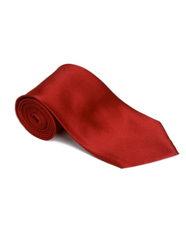 Lipstick Red Neck Tie