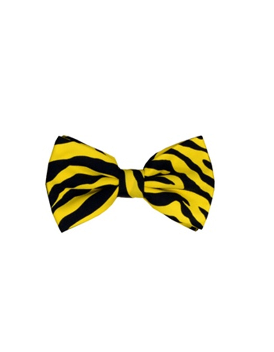 Yellow Animal Bow Tie