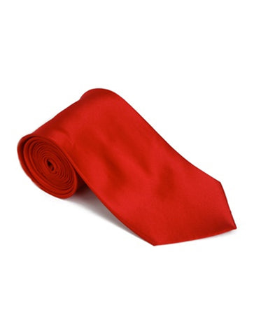 Bright Red Neck Tie