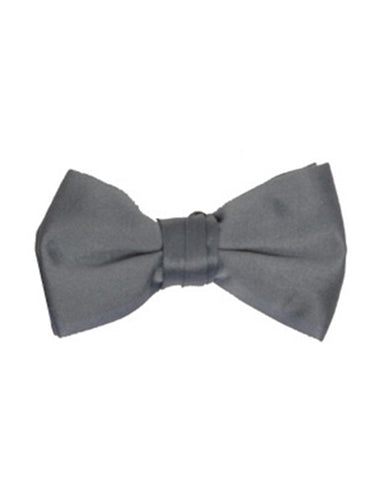 Charcoal Grey Bow Tie