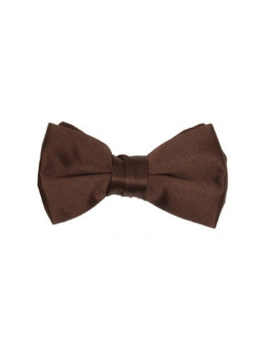 Chocolate Brown Bow Tie