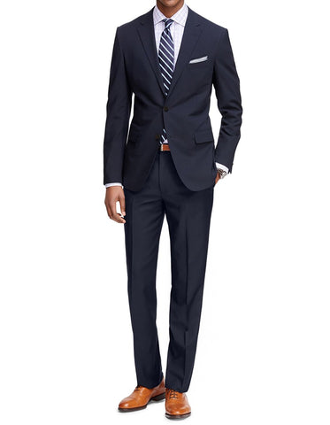 Mens Cheap Slim Fit Suit Dark Navy