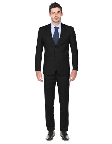 Mens Classic Fit Suit Black