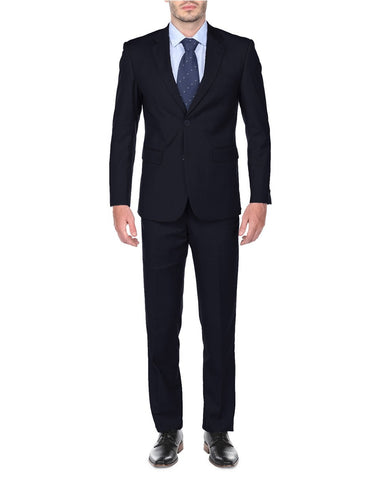 Mens Classic Fit Suit Navy