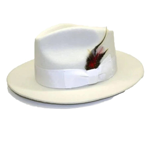 Untouchable Fedora Off White