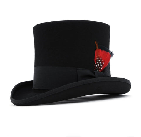 Mens Dress Tophat in Black