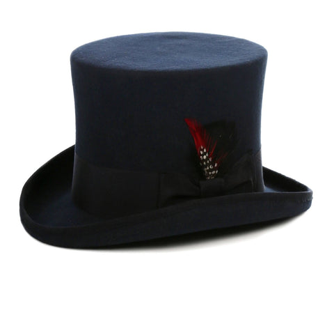 Mens Dress Tophat in Navy