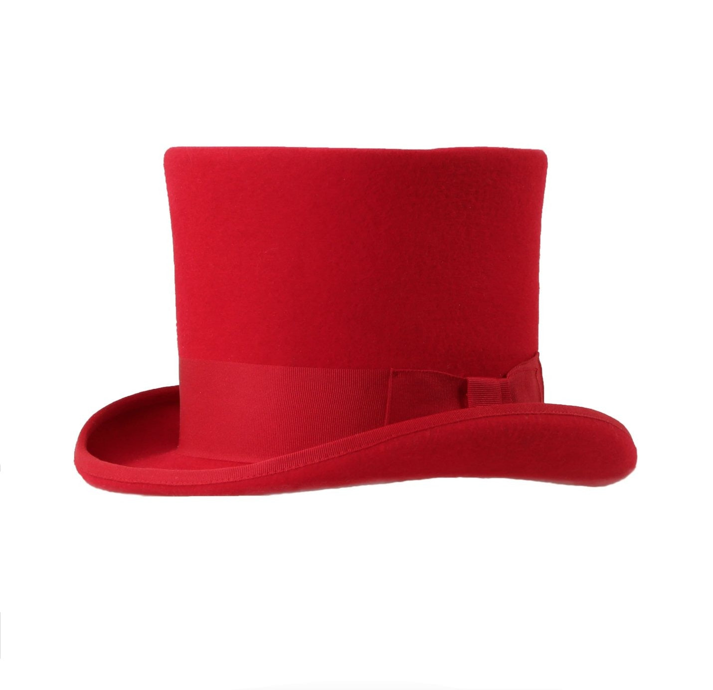 Mens Dress Tophat in Red
