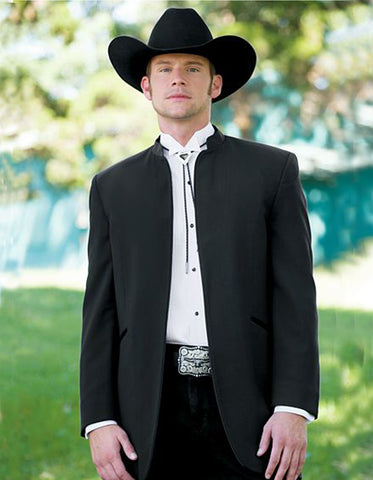 Mens Wester Cowboy Mirage Tuxedo in Black