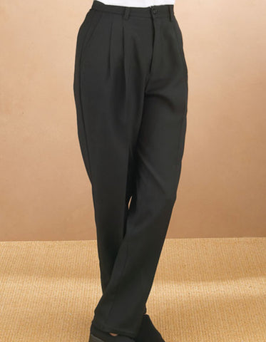 Mens Double Pleated Traditional Fit Tuxedo Pant