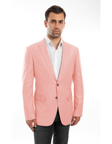 Mens 2 button Coral Peak Linen Blazer