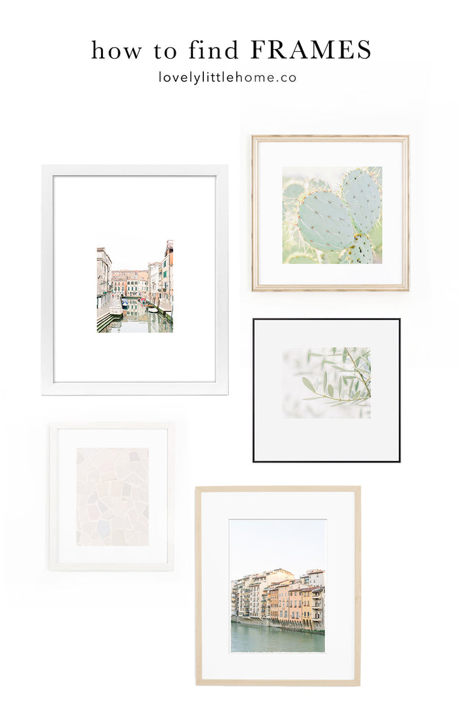 how to choose wall art frames for your home decor photo