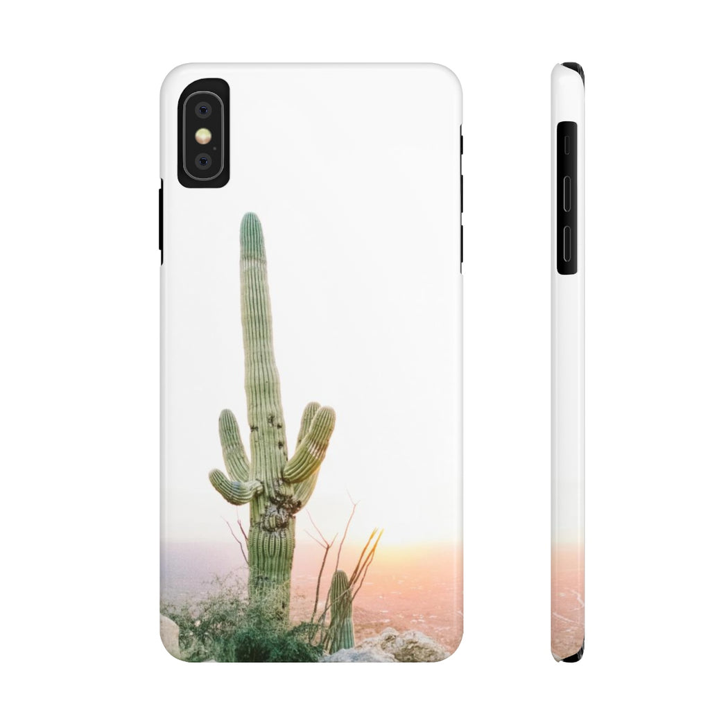saguaro cactus cell phone case