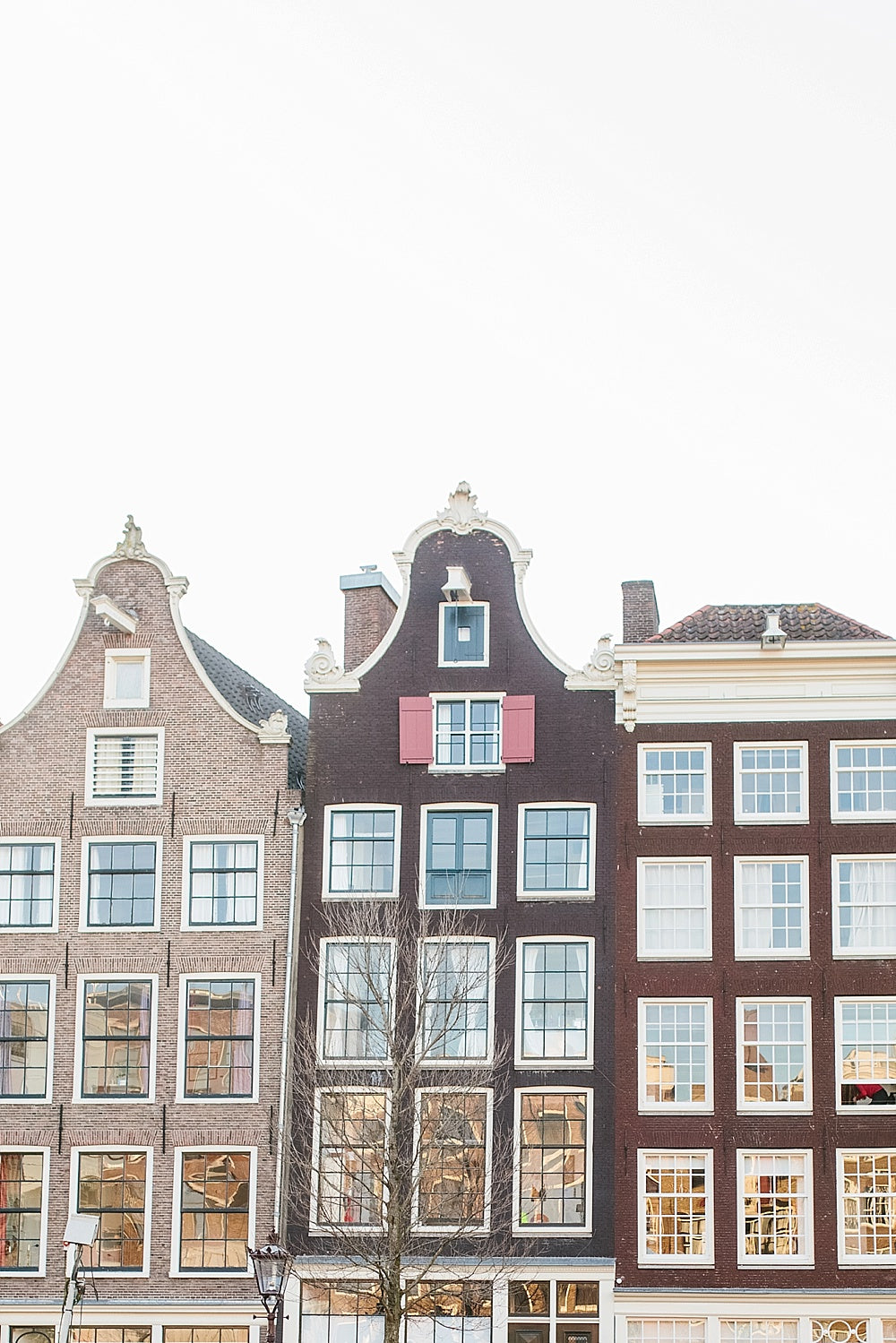 amsterdam canal houses print
